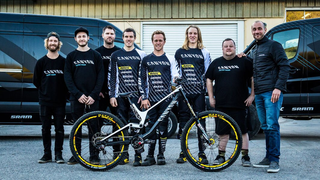 Canyon Factory Downhill Team
